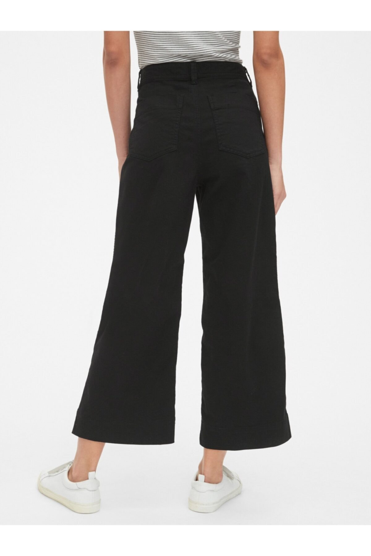 GAP Yüksek Belli Wide Leg Chino Pantolon 2