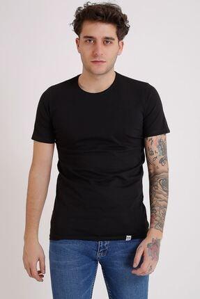 LTC Jeans Bisiklet Yaka Basic Siyah Erkek T-shirt