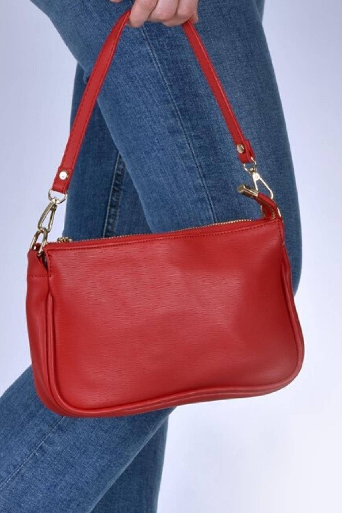 Çantaland Günlük Kullanıma Uygun, Şık Ve Rahat Baget Kadın Çanta 1