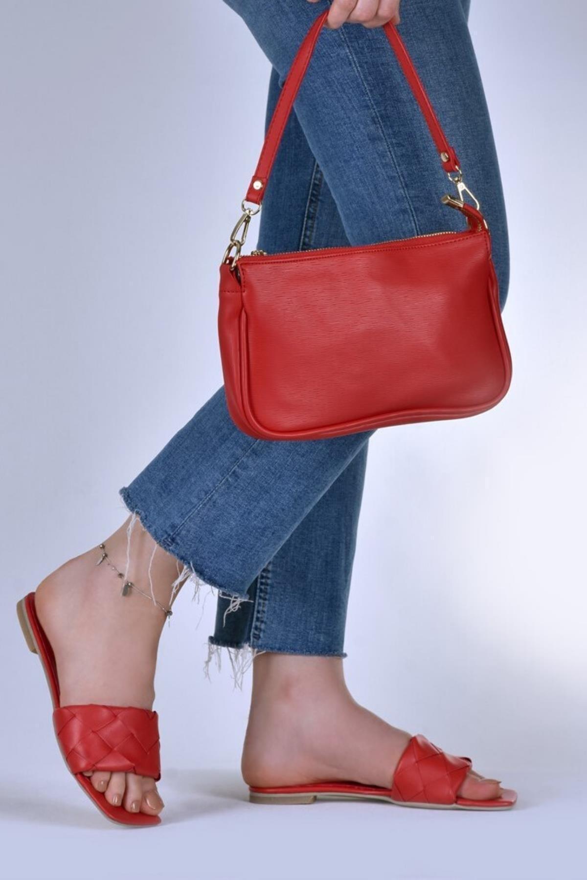 Çantaland Günlük Kullanıma Uygun, Şık Ve Rahat Baget Kadın Çanta 2