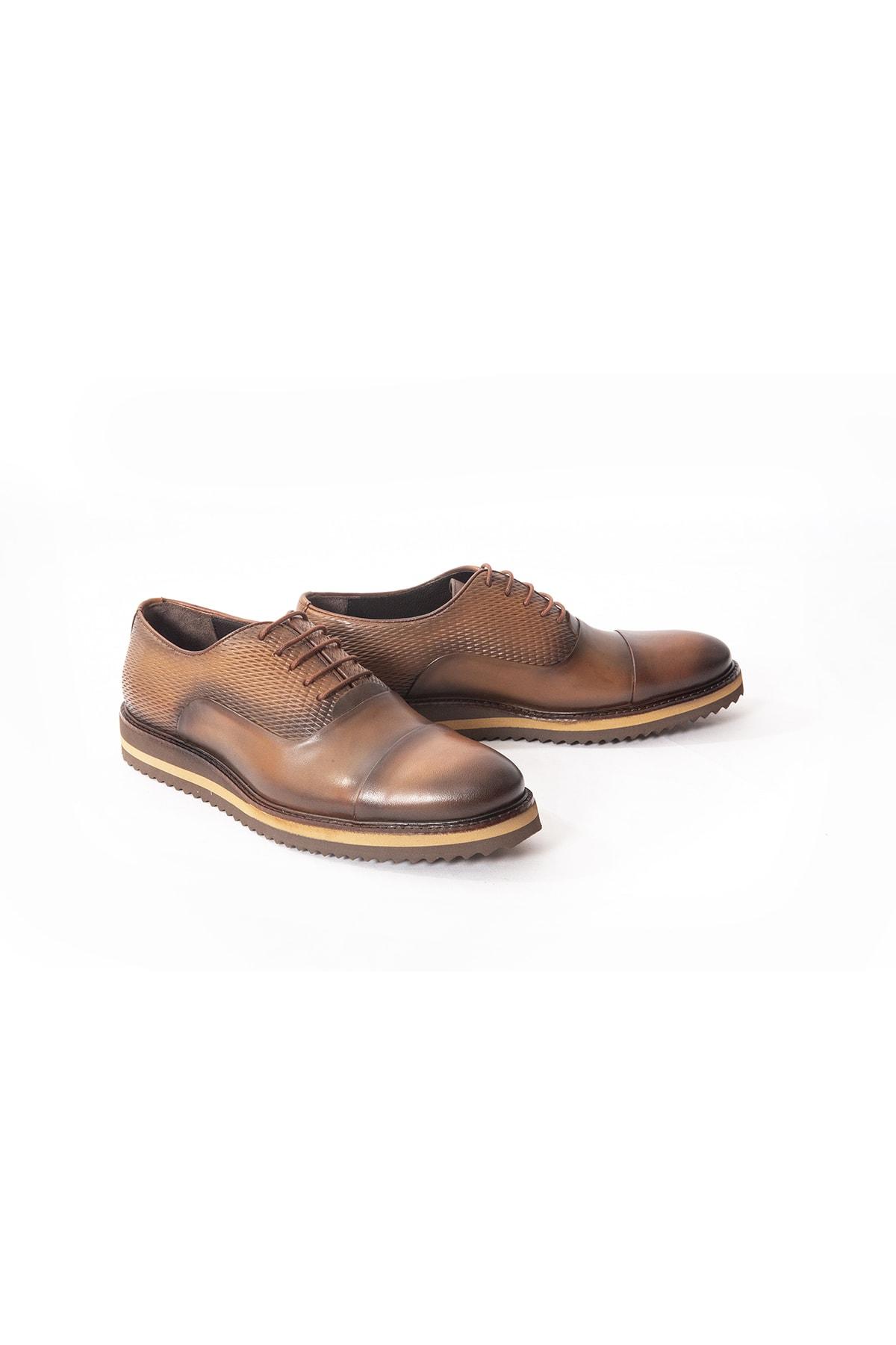 İgs Deri Günlük Erkek Ayakkabı Taba (I1711459-3 M 1000) 1