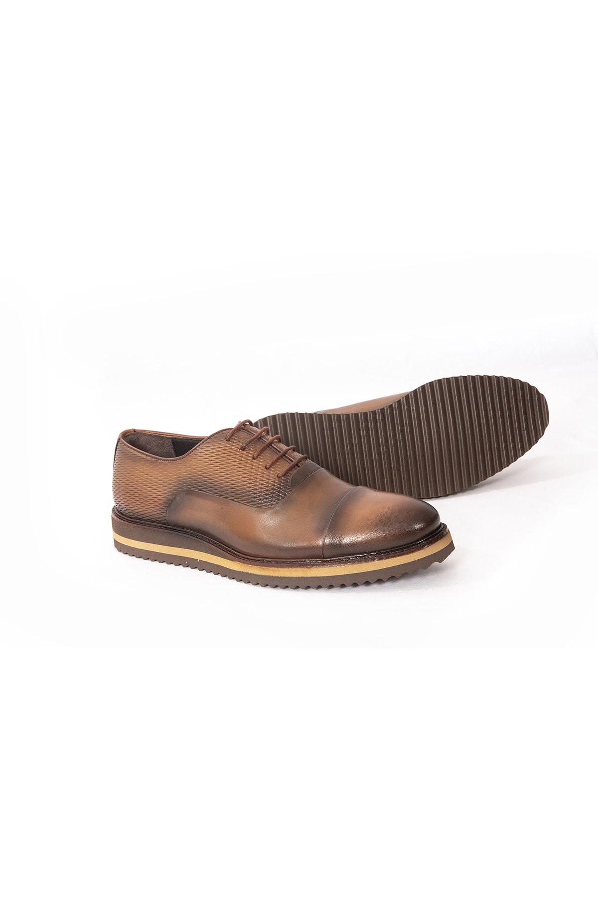 İgs Deri Günlük Erkek Ayakkabı Taba (I1711459-3 M 1000) 2