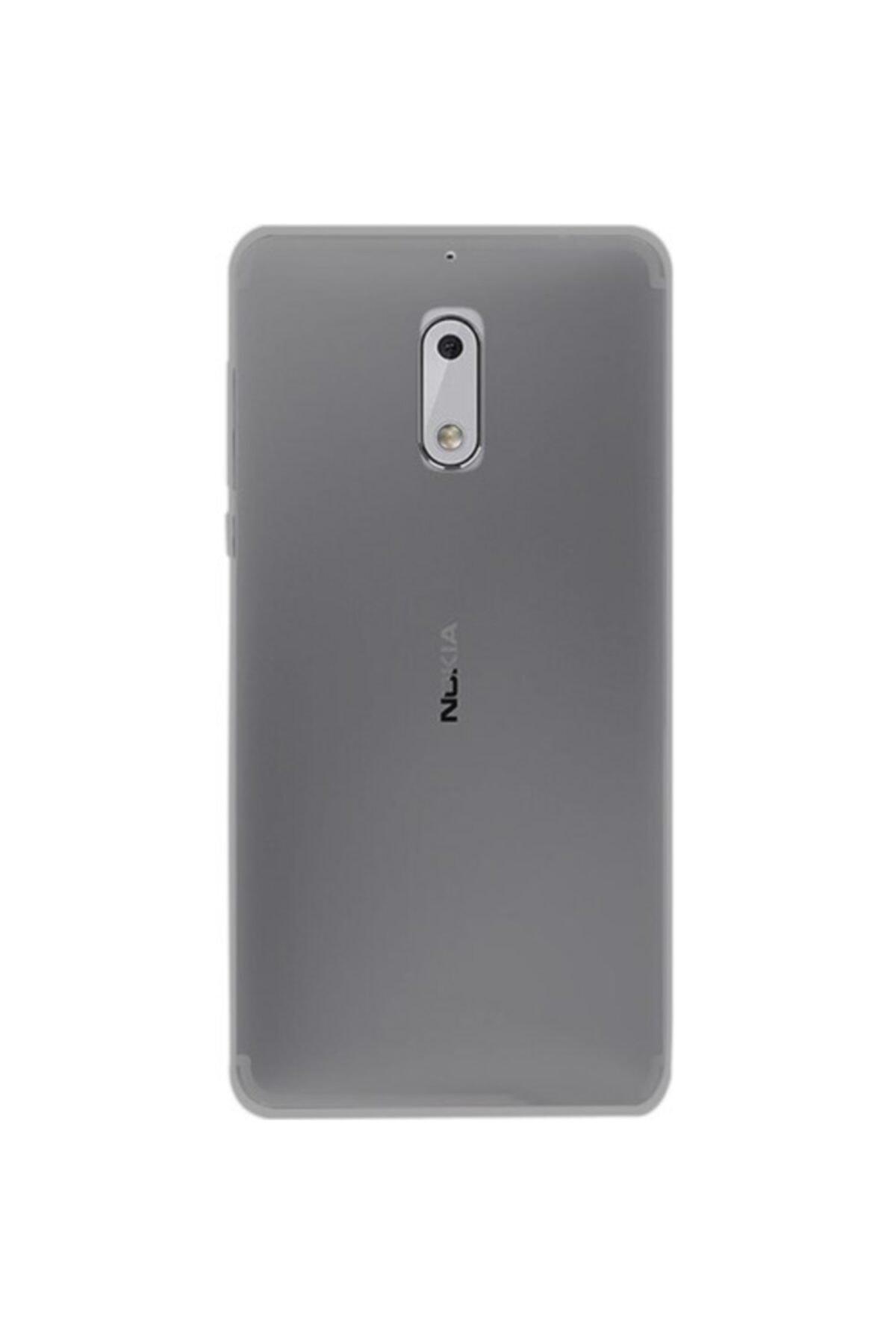 Nokia 3 Kılıf Soft Silikon Şeffaf-siyah Arka Kapak 1