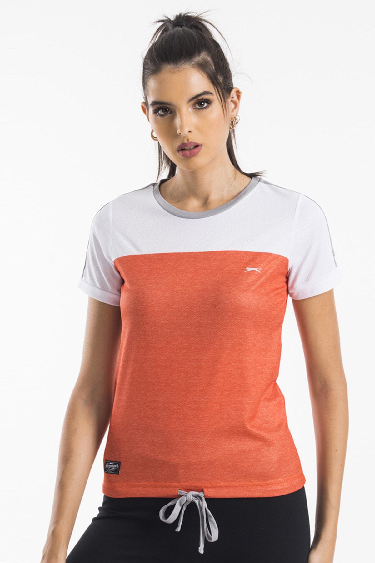Slazenger Rudy Kadın T-shirt Turuncu 1