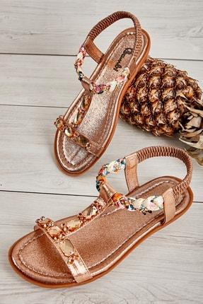 Bambi Rose Kadın Sandalet L0625010278