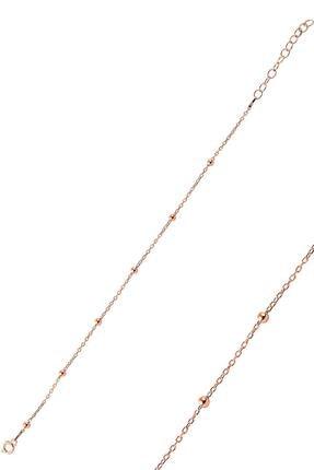Söğütlü Silver Gümüş Rose Top Top Halhal