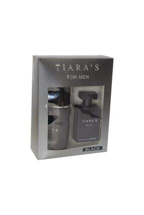 Tiaras Edt 100ml Black Erkek Parfüm + Deo 8698438302104nmdc