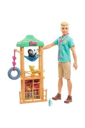 Barbie Ken Ve Meslek Oyun Setleri Veteriner Gjm33