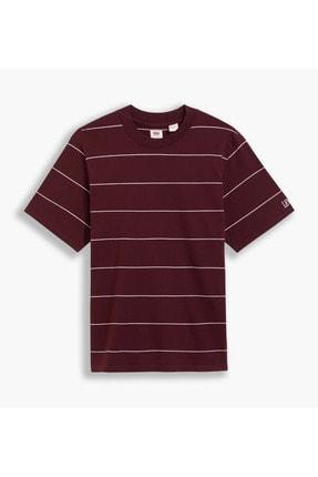 Levi's Ss Utility Relaxed Tee Space Stripe Çok Renkli Erkek Tişört