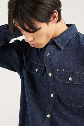 Levi's Jackson Worker Lt Wt Cotton Koyu Mavi Erkek Gömlek