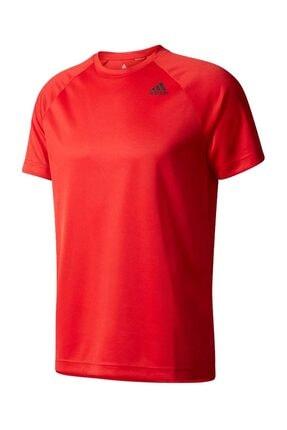 adidas Erkek T-shirt - D2M Tee Pl - BK0957
