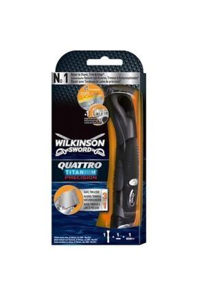 Wilkinson Quattro Titanium Precision Pilli Tıraş Makinası