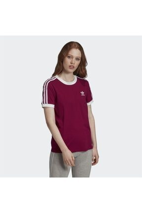 adidas Kadın Bordo Spor T-shirt