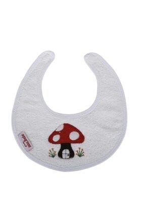 Sevi Bebe Küçük Havlu Önlük Art-21 Beyaz