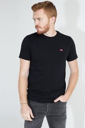 Levi's Erkek Siyah Bisiklet Yaka T-shirt 56605-0075-76-77