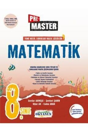 Okyanus Yayınları 8. Sınıf Pre Master Matematik Soru Bankası