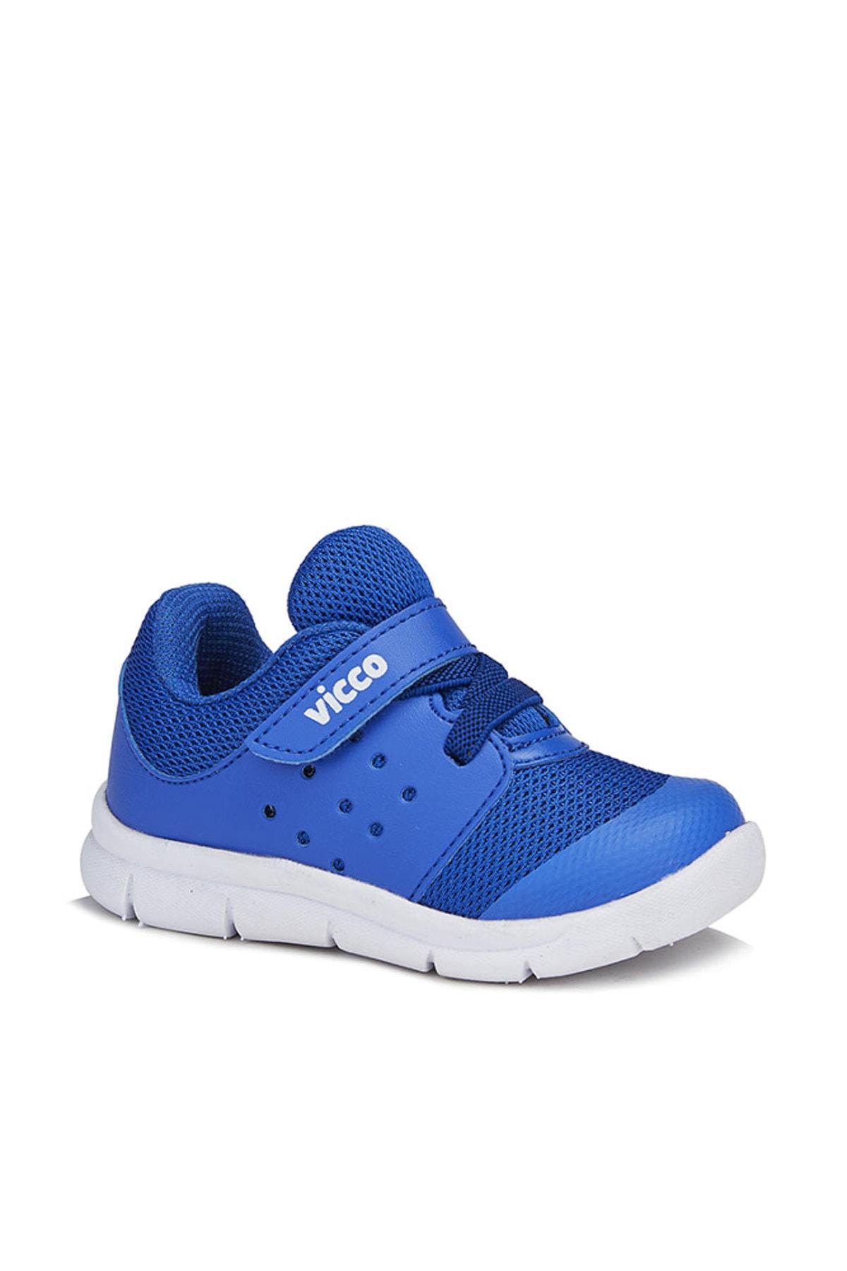 Vicco Mario Erkek Bebe Saks Mavi Spor Ayakkabı 1