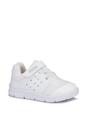 Vicco Mario Unisex Çocuk Beyaz Spor Ayakkabı