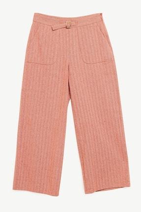 Yargıcı Kadın Kırmızı Cep Detayı Pantolon 1YKPN3013X