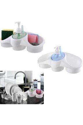 Dalki Sünger Hazneli Sıvı Sabunluk