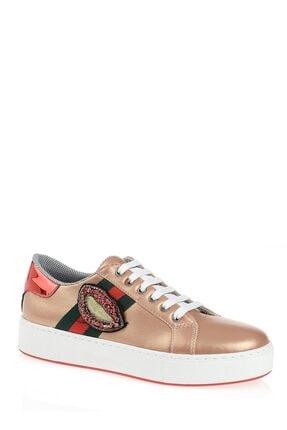 Derigo Bakır Dudak Kadın Casuel Ayakkabı 221701