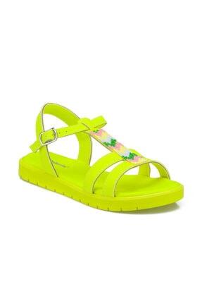 Polaris 512329.F Sarı Kız Çocuk Sandalet 100499393