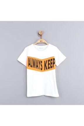 NK Erkek Çocuk Beyaz Moving T-shirt