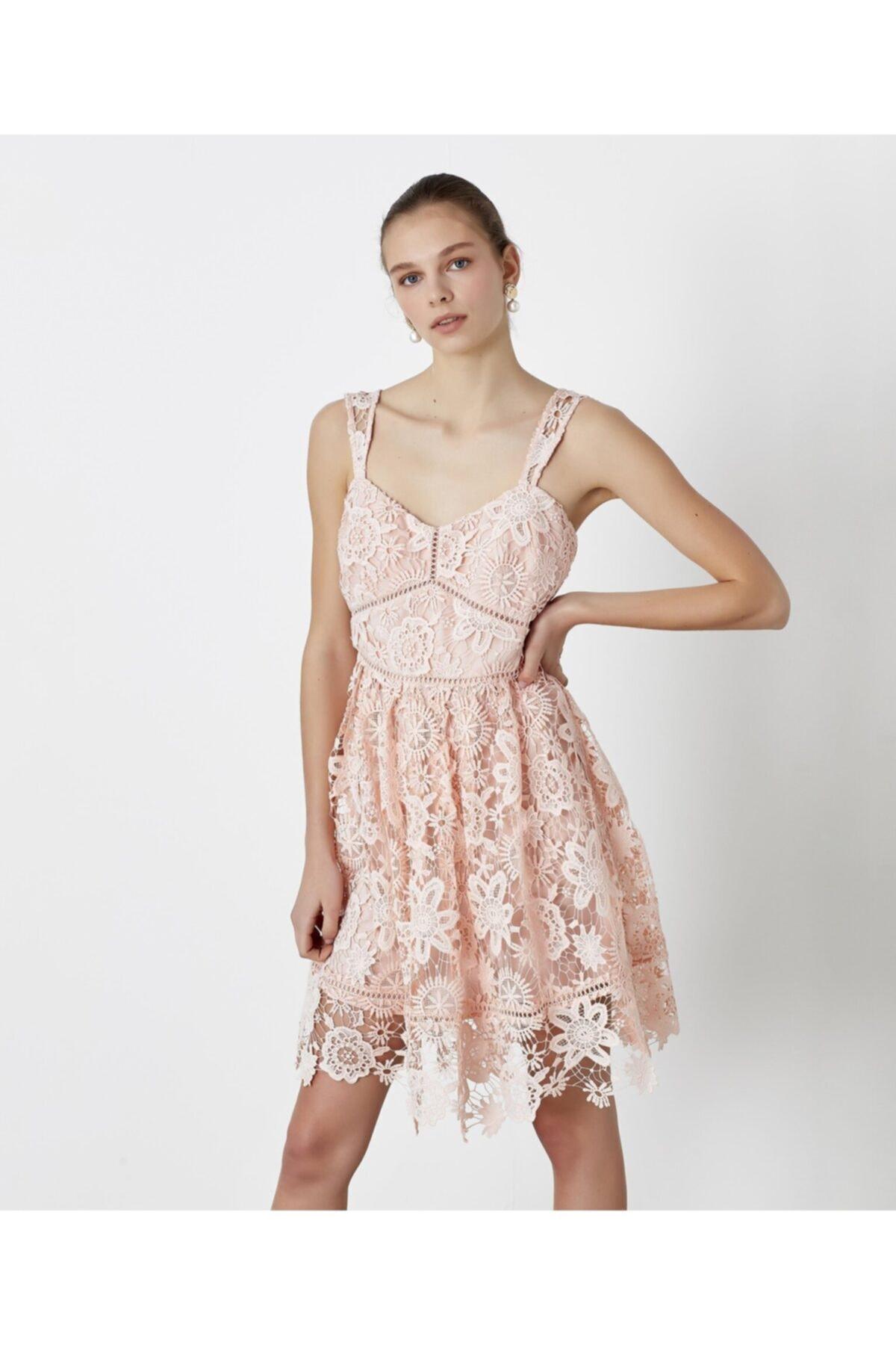 İpekyol Güpür Elbise 2