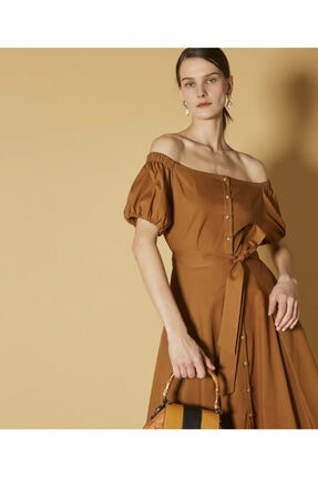 İpekyol Düşük Omuz Elbise
