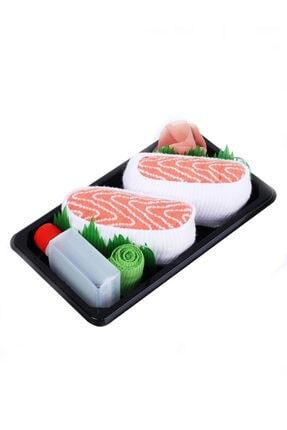 Socks + Stuff Somon Nigiri Sushi Çorap