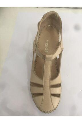 Ceyo 04 Bej Bayan Anatomik Ayakkabı