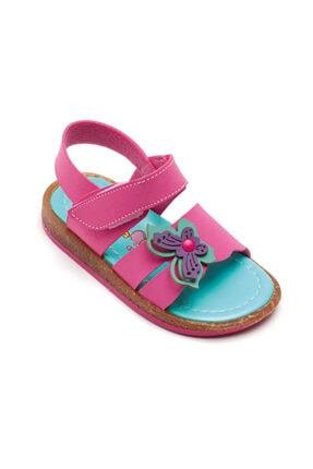 Şirin Bebe Kelebekli Açık Sandalet 3 Renk