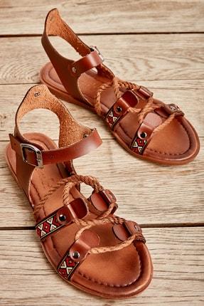 Bambi Kahve Kadın Sandalet L0529019709