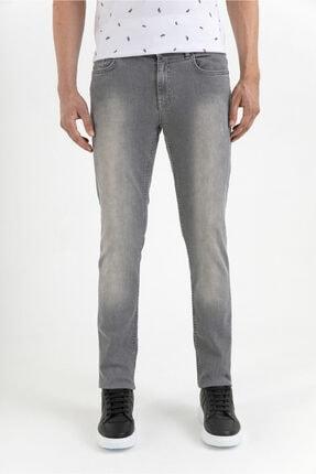 Avva Erkek Açık Gri Slim Fit Jean Pantolon A01y3560