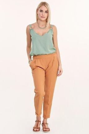 Fulla Moda Duble Paça Kumaş Pantolon