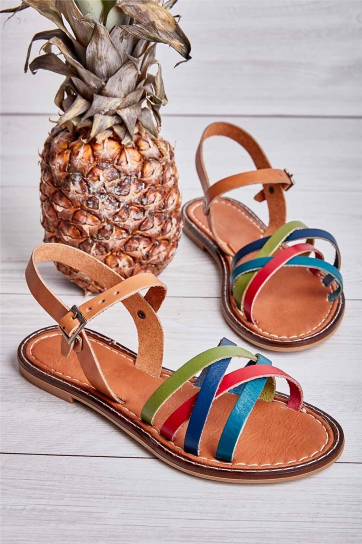 Bambi Multi Kadın Sandalet L0602809003 1