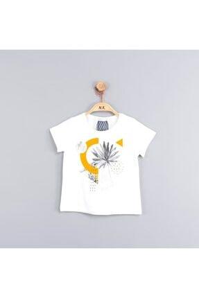 NK Kız Çocuk Üçgen Çiçekli  T-Shirt