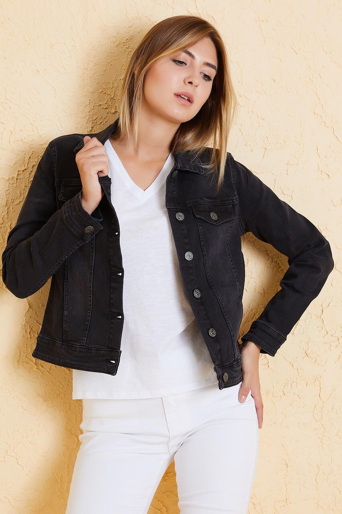 Twister Jeans Kadın Bm J05-03 Sıyah 1