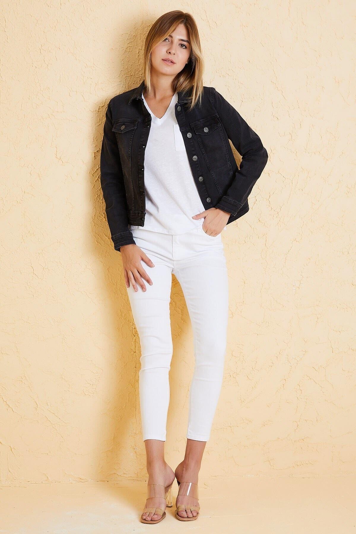 Twister Jeans Kadın Bm J05-03 Sıyah 2