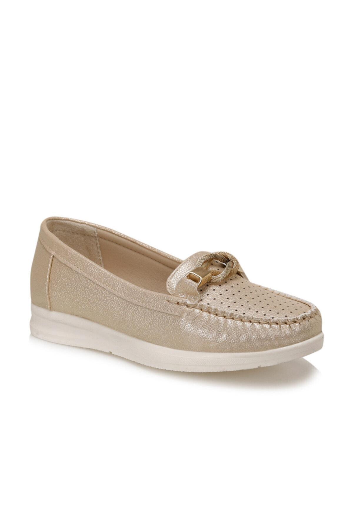 Polaris 161218.Z Altın Kadın Ayakkabı 100512243 1