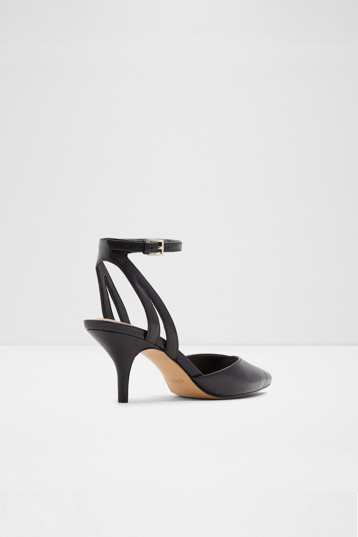 Aldo Krasnoya - Siyah Kadın Topuklu Ayakkabı 2