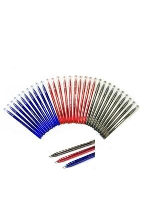Pensan Büro Tükenmez Kalem 30 Adet (10 Mavi, 10 Kırmızı, 10 Siyah)