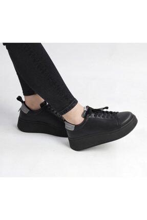 Pierre Cardin Platformlu Sneaker Ayakkabi, Siyah