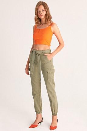 Fulla Moda Kargo Cepli Pantolon