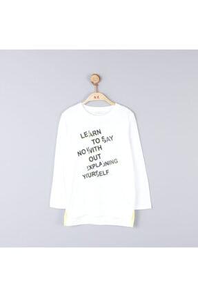 NK Erkek Çocuk Pamuklu Neon Yazılı Tshirt