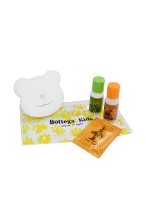 BOTTEGA KIDS Luxury Çocuk Seyahat Seti 4'lü(şampuan-duş Jeli,vücut Losyonu,sabun,banyo Sünger)