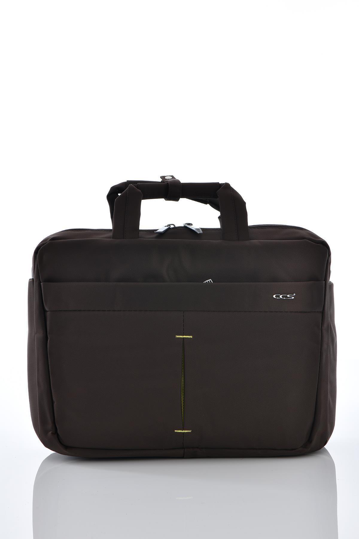 ÇÇS 71340 Laptop Bölmeli Evrak Çantası Kahverengi 1