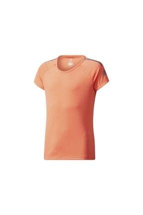 adidas Unisex Çocuk Turuncu Spor T-Shirt