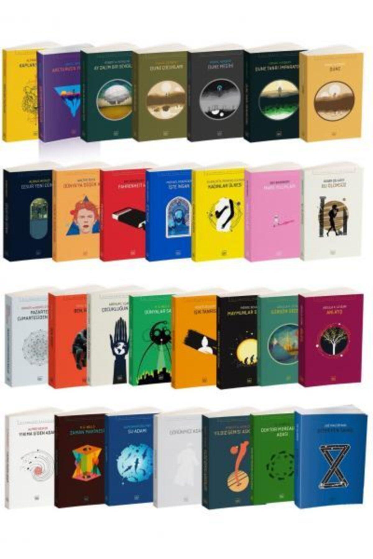 İthaki Yayınları Bilimkurgu Klasikleri 51 Kitap Takım 1