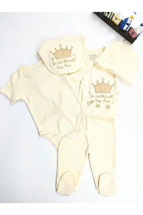 Ciccim Baby Yenidoğan Erkek Bebek Prince 5'li Hastane Çıkışı Zıbın Set